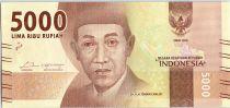 Indonesia 5000 Rupiah Dr K.H. Idcham Chalid - Gumung Bromo 2016 (2017)