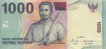 Indonésie 1000 Rupiah Kapitan Pattimura