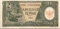 Indonésie 10000 Rupiah - 1964 - Neuf - Série PAK