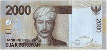 Indonésie 2000 Rupiah Pangeran Antasari - Danseuses - 2016