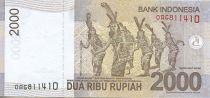 Indonésie 2000 Rupiah Pangeran Antasari - Danseuses