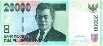 Indonésie 20000 Rupiah Oto Iskandar di Nata