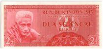 Indonésie 2.50 Rupiah Vieil homme
