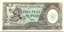 Indonésie 50 Rupiah - 1964 - Neuf - Série JAG