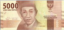 Indonésie 5000 Rupiah Dr K.H. Idcham Chalid - Gumung Bromo 2016 (2017)