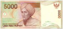 Indonésie 5000 Rupiah Tuanku Imam Bondjol