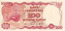 Indonesien 100 Rupiah Victoria pigeon - Dam
