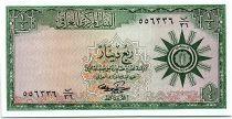 Irak 1/4 Dinar - 1959 - P.51b - Neuf