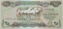 Irak 25 Dinars - Chevaux - Palace Abbaside - 1980 - P.66b - Neuf