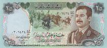 Irak 25 Dinars S. Hussein - Monument des Matyrs - 1986 - P.73