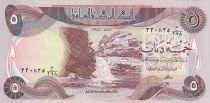 Irak 5 Dinars Cascade Gali-Ali Beg - Château - 1981