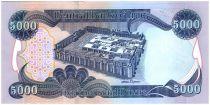 Irak 5000 Dinars Cascade Gali Ali Beg - Forteresse Al-Ukhether - 2013