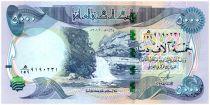 Irak 5000 Dinars Gali Ali Beg waterfall - Al-Ukhether Fortress - 2013