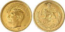 Iran 1/2 Pahlavi 1355 (1977) - Gold