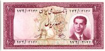 Iran 100  Rials , Mohammad Reza Pahlavi - 1951 -  P.57