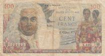 Iran 100 Francs ND1947 - La Bourdonnais
