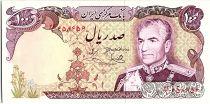 Iran 100 Rials , Mohammad Reza Pahlavi - 19(74-79) P.102 d