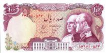 Iran 100 Rials Shah Reza and Shah Pahlavi - 1976