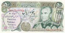 Iran 50 Rials Pahlavi - Tombe de Cyrus - 1977