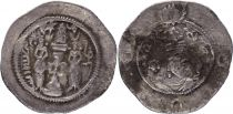 Iran Royaume sassanide, Hormizd IV (579-590) - Drachme - TB - 5e ex.