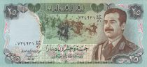 Iraq 25 Dinars S. Hussein - Martyrs Monuments - 1986 - P.73 - XF