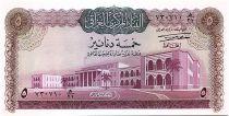 Iraq 5 Dinars Parliament - King Hammurabi - 1971 - P.59 - UNC
