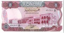Iraq 5 Dinars Parliament - King Hammurabi - 1973 - P.64 - UNC