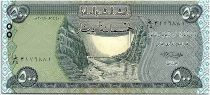 Iraq 500 Dinars, Dam - Statue Winged - 2018 UNC