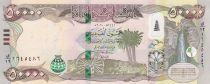 Iraq 50000 Dinars Waterfall - Hybrid 2020 (2021) - AH1441 - UNC