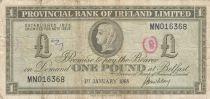 Ireland - Northen 1 Pound Provincial Bank Limited 1968 - VG - P.245
