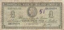 Ireland - Northen 1 Pound Provincial Bank Limited 1972 - VG - P.245