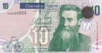 Ireland - Northen 10 Pounds JB Dunlop - Danske Bank 2013 - aUNC