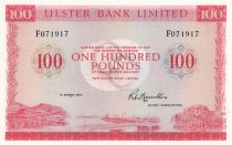 Ireland - Northen 100 Pounds Ulster Bank - 1977 - aUNC - P.330