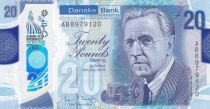 Ireland - Northen 20 Pounds H. Ferguson - Danske Bank 2019 (2020) - UNC - Polymer