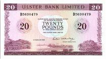 Ireland - Northen 20 Pounds Ulster Bank - 1988 - P.328 c