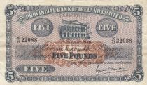 Ireland - Northen 5 Pounds Provincial Bank Limited 1948 -  VF - P.239