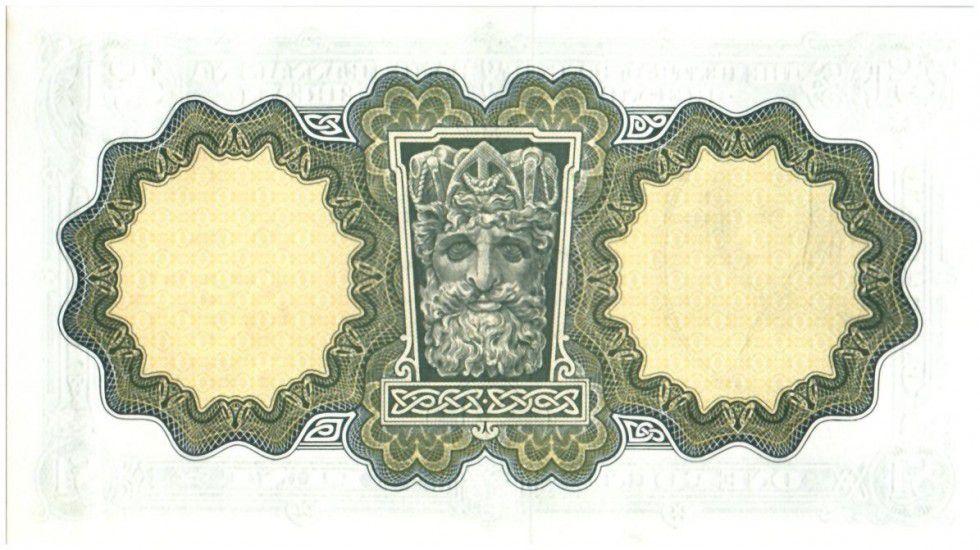 Ireland 1 Pound Lady Lavery - 1976