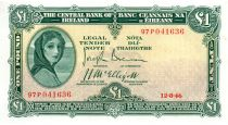 Irland 1 Pound 1946 -  Lady Lavery