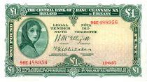Irlanda 1 Pound 1957 -  Lady Lavery
