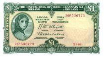 Irlande 1 Pound 1959 -  Lady Lavery