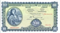 Irlande 10 Pounds Lady Lavery - 1975
