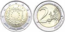 Irlande 2 Euro 30 ans du Drapeau Européen - 2015