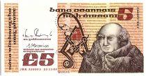 Irlande 5 Pounds John Scotus Eriugena - 1989 P. 71 e