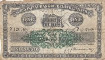 Irlande du Nord 1 Pound Provincial Bank Limited 1946 - B+ - P.235b