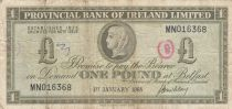Irlande du Nord 1 Pound Provincial Bank Limited 1968 - P.TB - P.245