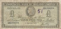 Irlande du Nord 1 Pound Provincial Bank Limited 1972 - P.TB - P.245