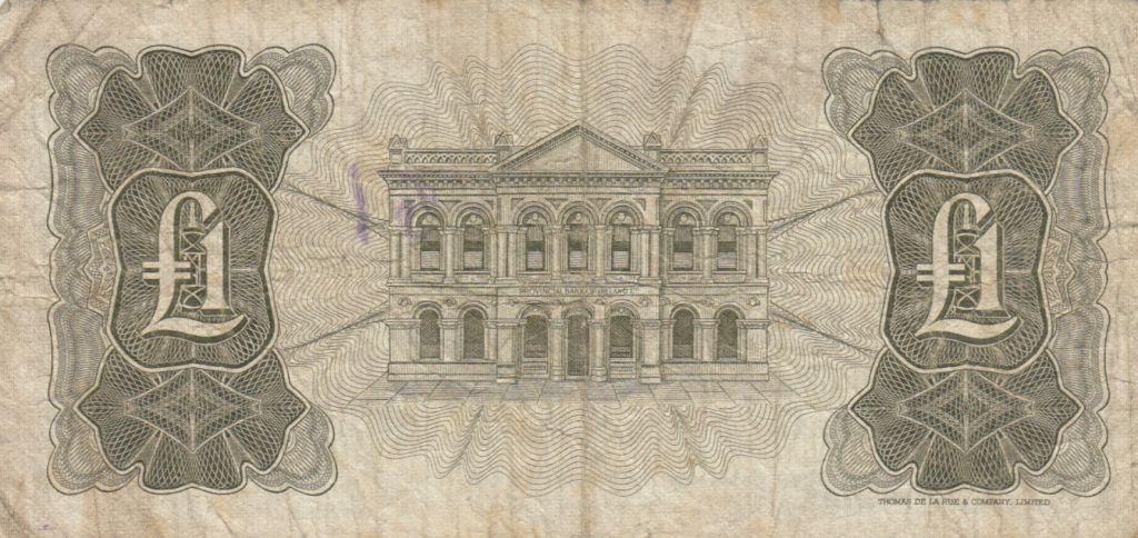Irlande du Nord 1 Pound Provincial Bank Limited 1972 - P.TB - P.245