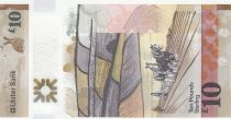 Irlande du Nord 10 Pounds Ulster Bank - Fleurs - Polymer 2017 (2019) - Neuf