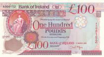 Irlande du Nord 100 Pounds - Bank of Ireland - 2013 - P.82 - p.Neuf