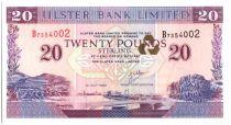 Irlande du Nord 20 Pounds Armoiries